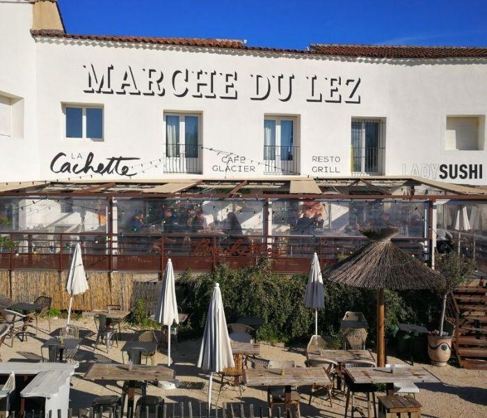 Le Marché du Lez, un village dans Montpellier