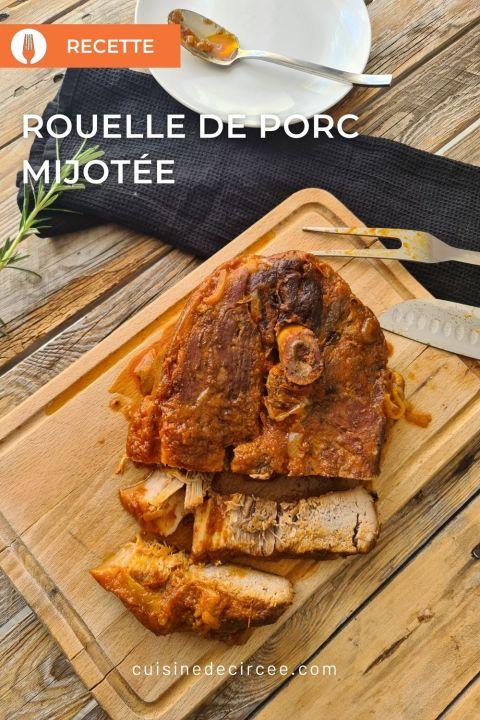 rouelle de porc mijotée