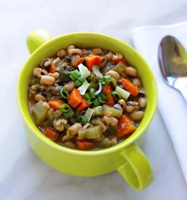 Hoppin' John Cajun Black-eyed Peas and Brown Rice