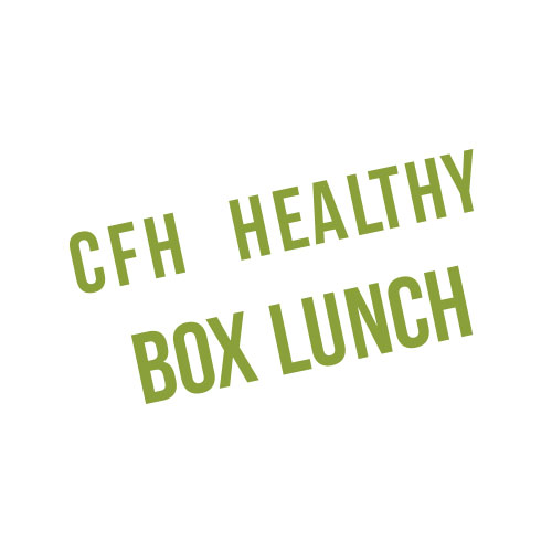 CFH Healthy Box lunch logo for products