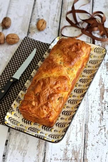 Cake au roquefort & lardons (2)
