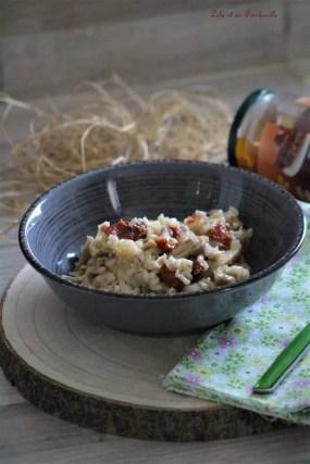 Risotto aux tomates séchées & poulet (3)