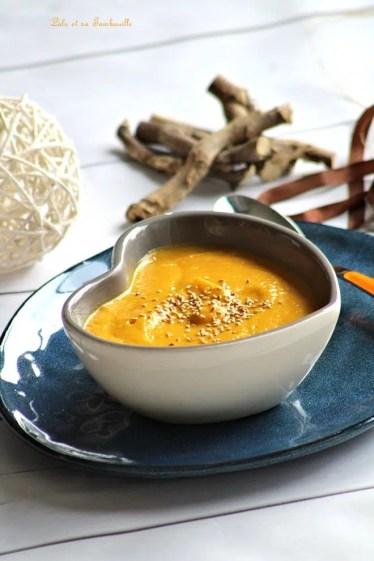 Velouté de carottes & lait de coco (5)