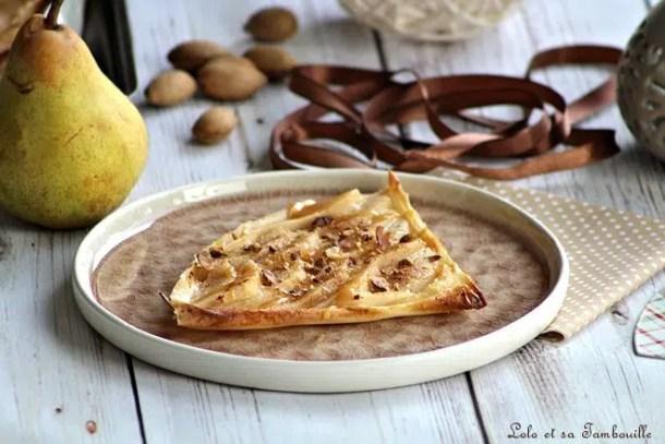 Tartelettes express aux poires {de Cyril Lignac}