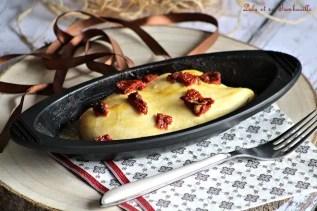 Papillote de poulet moutarde au miel & tomates séchées (3)