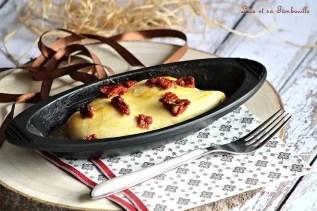 Papillote de poulet moutarde au miel & tomates séchées (4)