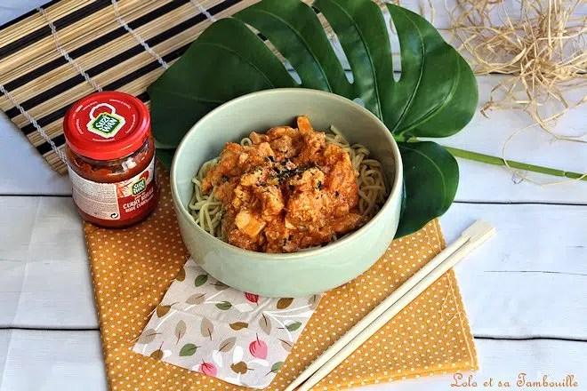 Curry de saumon