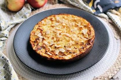 Clafoutis de fromage lanc aux pommes & poires (2)