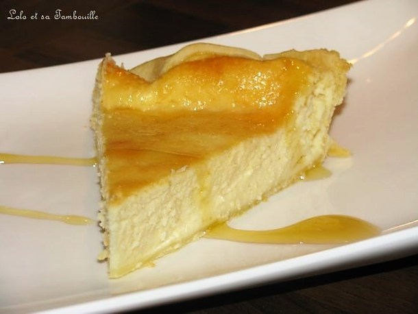 Tarte au fromage blanc & lemon curd