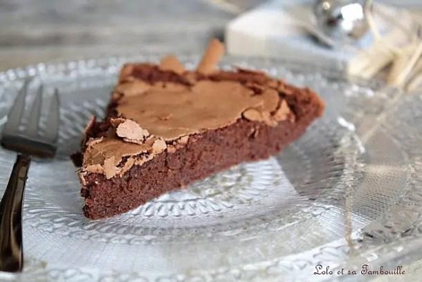 Gâteau au chocolat sans beurre & sans reproches