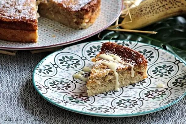 Gâteau à la banane & poudre d'amande