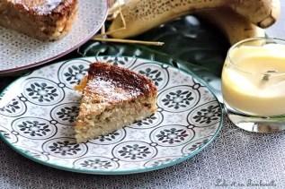 Gâteau à la banane & poudre d'amandes (5)