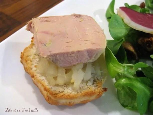 Salade composée & ses scones