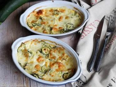Gratin de courgettes & mozzarella (2)