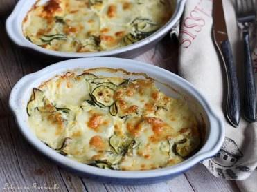 Gratin de courgettes & mozzarella (5)