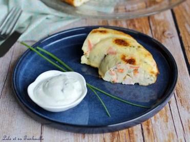 Couronne aux crevettes & saumon fumé (4)