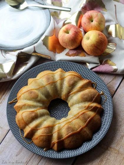 Gâteau moelleux aux pommes (2)