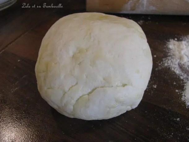 Pâte brisée allégée {au fromage blanc}