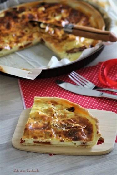 Tarte au petit billy tomates séchées & chorizo (4)