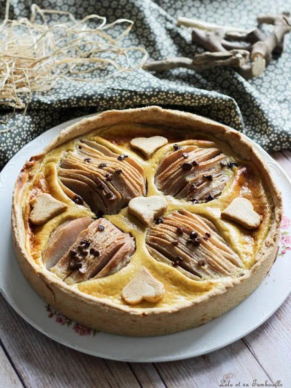 Tarte poires & pépites de chocolat (2)