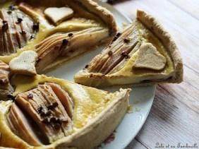 Tarte poires & pépites de chocolat (5)
