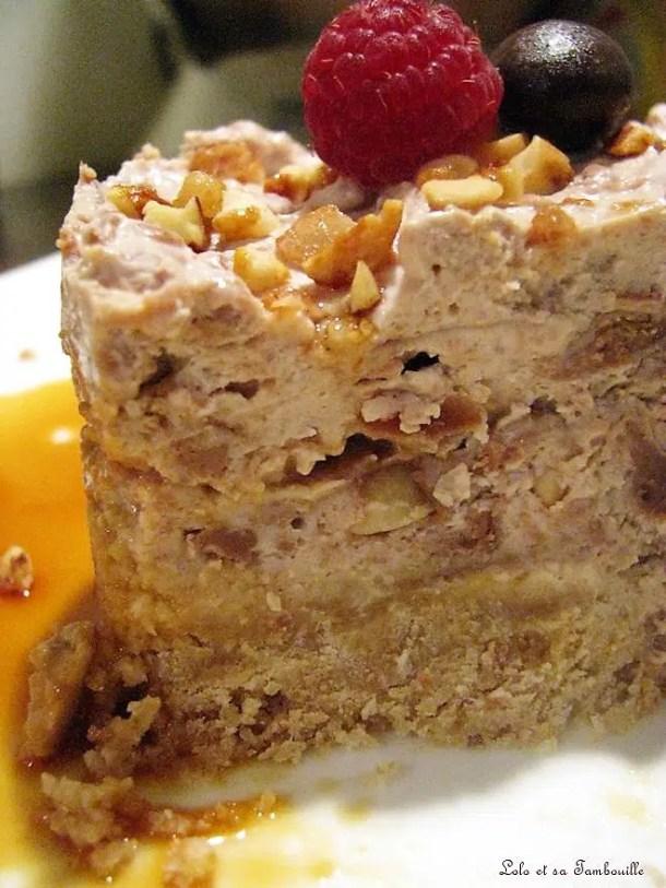 Cheesecake au chocolat milka