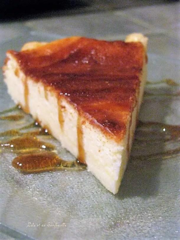 Gâteau léger au fromage blanc Lolo et sa Tambouille