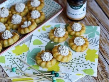 Mini saint honoré parmesan & tapenade (2)