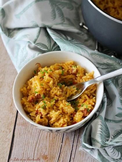 Riz pilaf chorizo & safran (5)