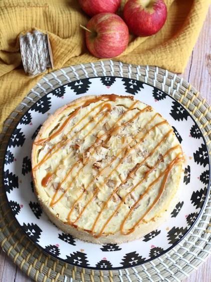 Tarte aux pommes façon cheesecake (2)