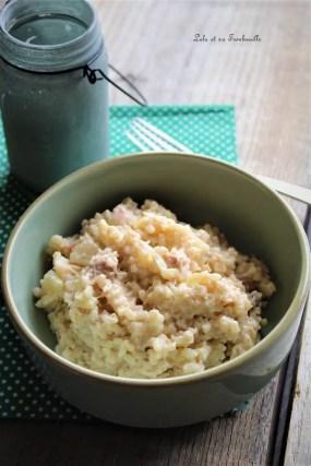 Risotto au thon & crème de parmesan (3)