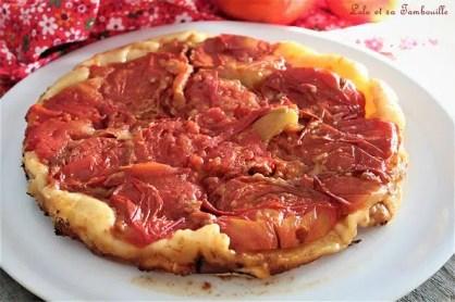 Tatin de tomates & vinaigre balsamique (2)