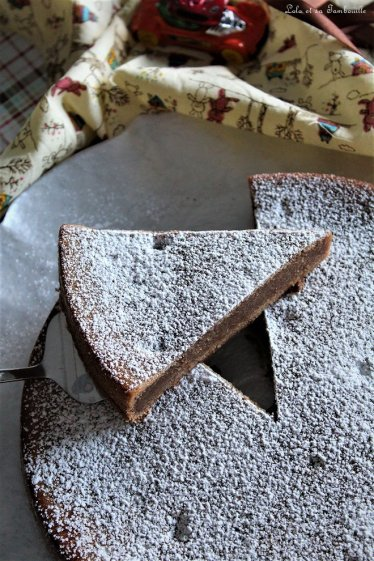 Gâteau fondant au chocolat (3)