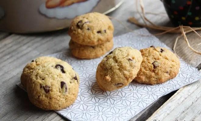 Cookies chocolat & noix de coco