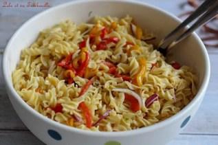 Salade de pâtes aux poivrons grillés (2)