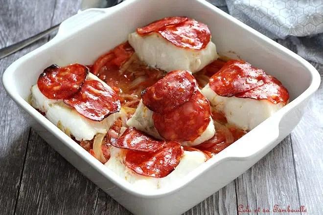 Cabillaud aux tomates