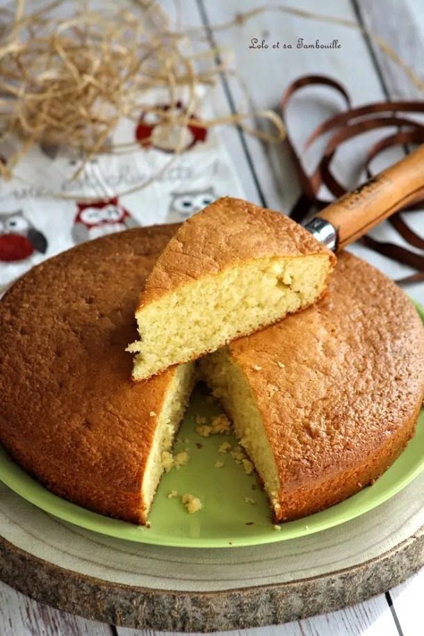 Gâteau au yaourt à la vanille