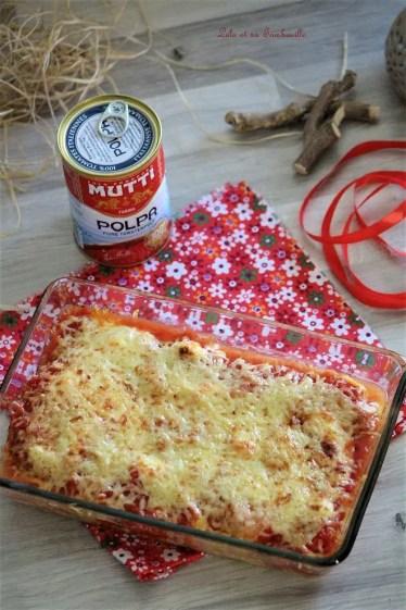 Gratin d'omelette à la tomate (4)