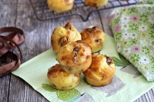 Mini muffins chèvre & bacon (2)