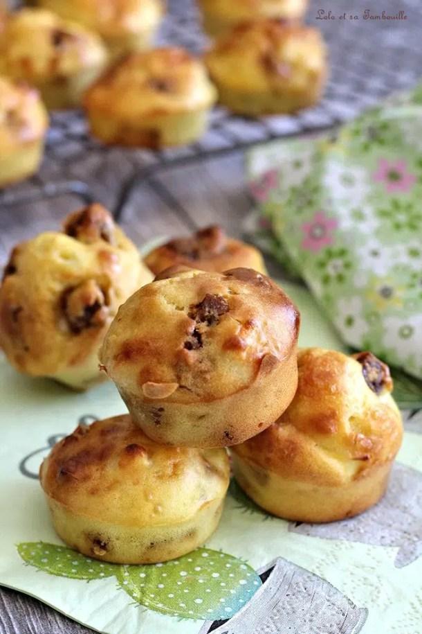 Muffins aux figues séchées & chèvre