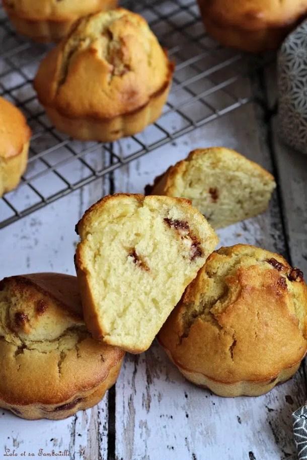 Muffins aux schoko-bons