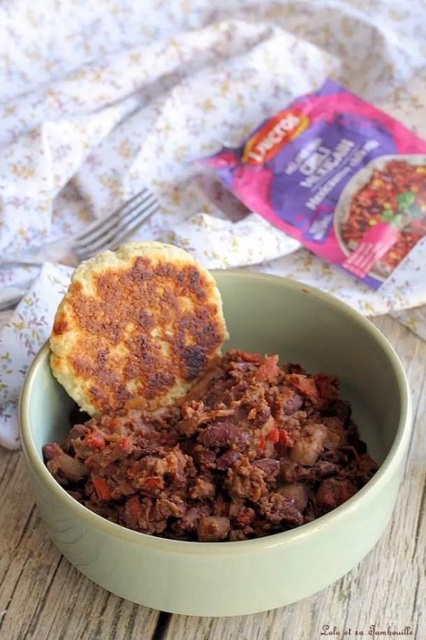 Chili con carne {allégé}