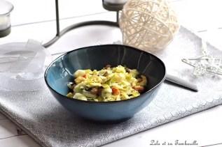 Fondue de poireaux aux fruits de mer (2)