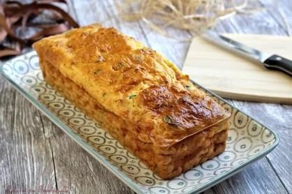 Cake aux carottes & lardons (3)
