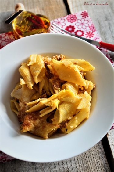 Gratin de pâtes au chorizo (4)