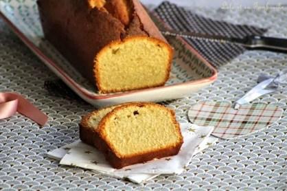 Cake au rhum & à la vanille (4)