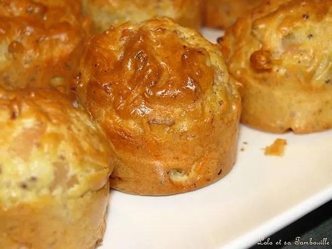 Mini muffins au jambon