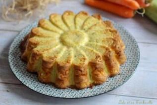 Quiche sans pâte aux carottes & courgette (2)