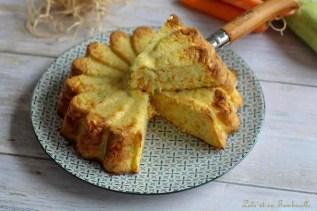 Quiche sans pâte aux carottes & courgette (5)
