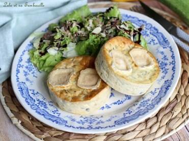 Quichettes sans pâte courgettes & chèvre (3)
